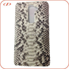 Oem multi models New design exotic python skin case for LG G3 case