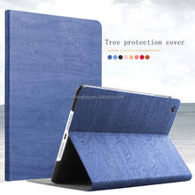 PSG generation- Genuine Real 100% Leather High Quality Luxury Tree Texture PU Tablet pc Leather case for ipadair2