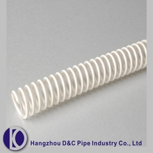 Manufacture 8 Inch Flexible Spiral Plastic Clear PVC Tube