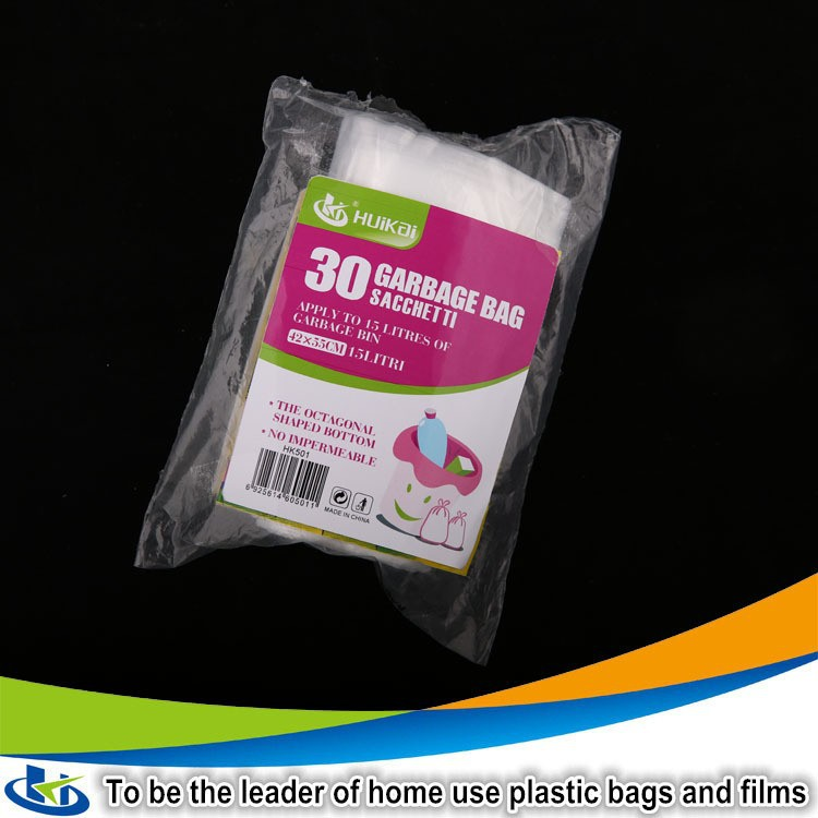 Practical Family Home 1-Roll Thicken plastic trash bags custom printed trash bags Waste Colour Bags