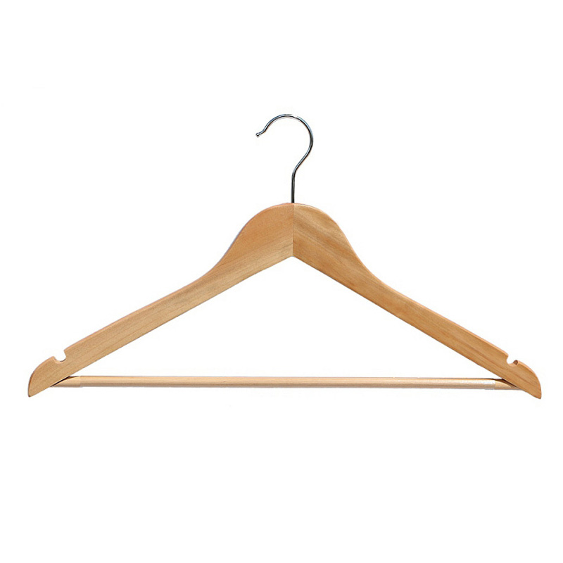 High Quality Fashion Wood Clothing Hanger for Shop Store