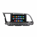 Support original car rear camera and amplifier and USB android 7.1.2 car stereo system for Elantra 2016