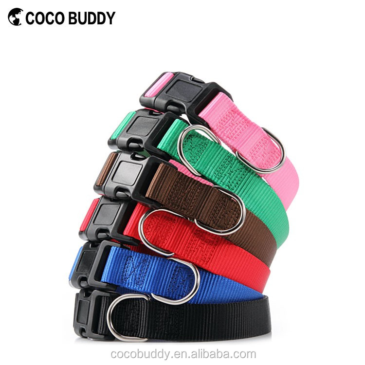 3/4-Inch Hot Design Stock Material Best Quality Nylon Dog Collars