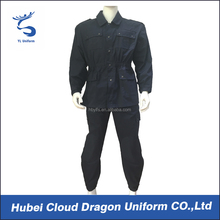 Dark navy security guard 2 piece latest design men suit