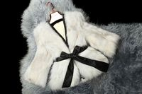 2014 Fashion Fox Fur coat/Wholesale And Retail With belt