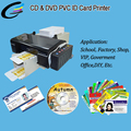 100PCS Continuous Inkjet Printing Smart Desktop ID Card Printer for Epson L800