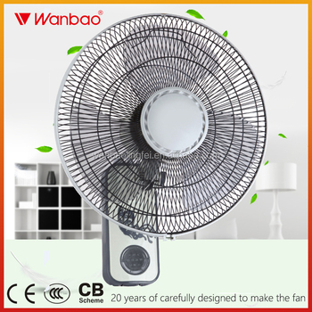 16 inch wall mounted fan with remote control low price best quality
