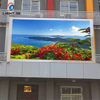 High Quality Waterproof P10 Outdoor Advertising LED Screen 320 x 160mm Full Color LED Panel