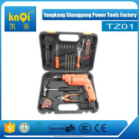 KaQi hand tool sets impact drill 20pcs mini tool set