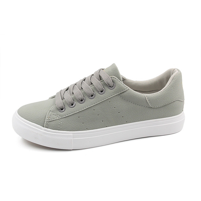 ladies leather shoes , women pu sneakers casual shoes
