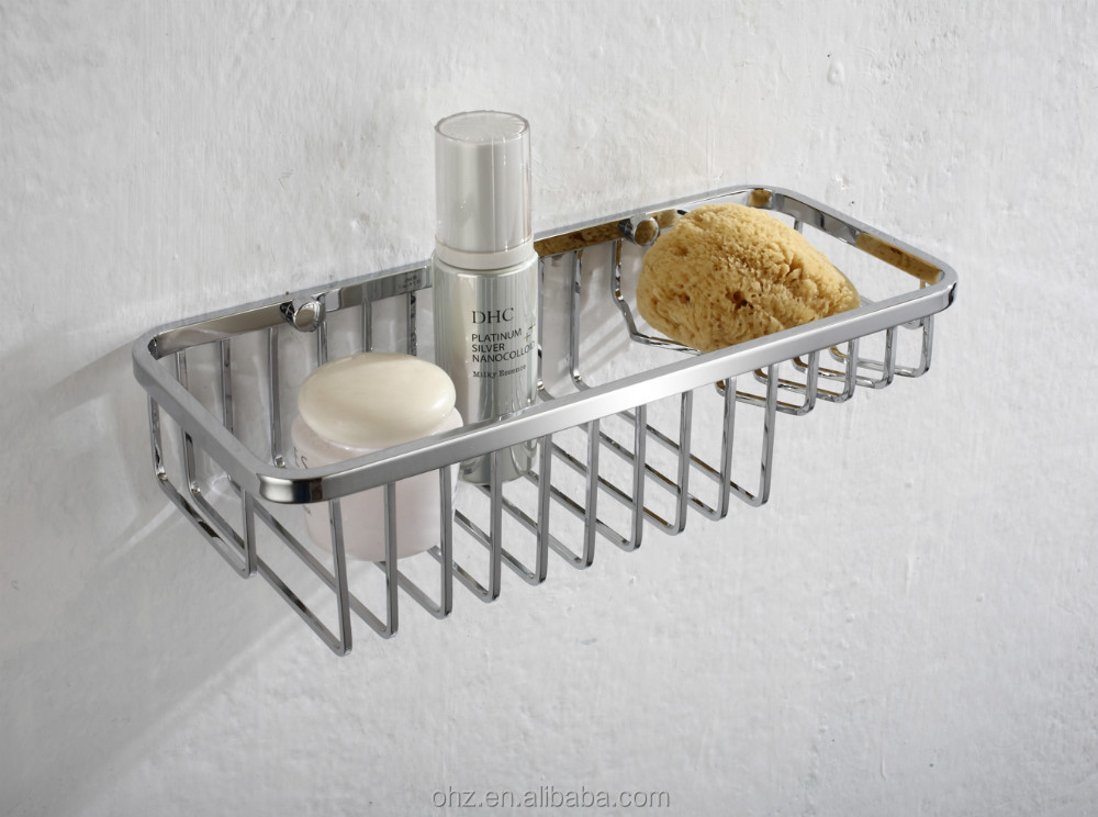 stainless steel bathroom wire basket 8805