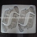 Hardware Flocking Plastic Tray disposable white eco-friendly PVC package blister beautiful elegant conveniency container