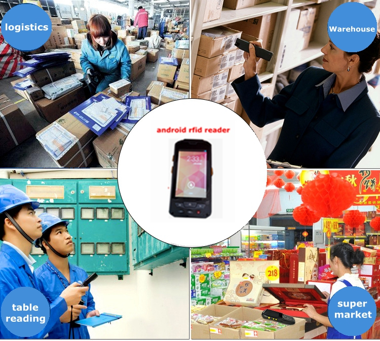 Floor price! Android wireless passive uhf long distance rfid reader