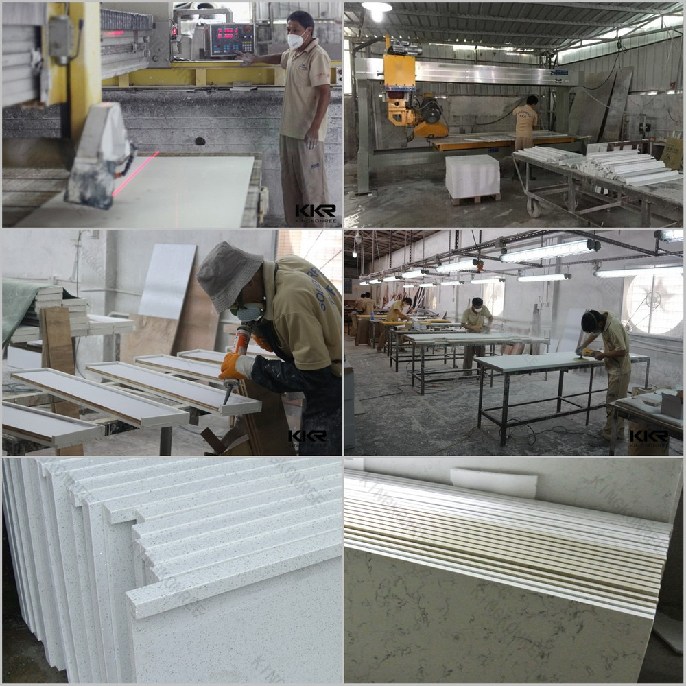 Corian Manufacturing Process: Kkr Counter Tops Manufacturers,Grey Solid Surface
