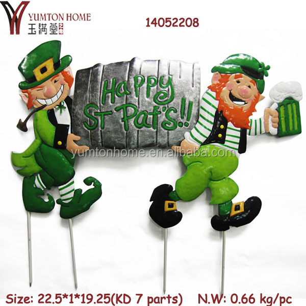 Craft manufacturer Metal ST Pat's Day Easter decorative craft
