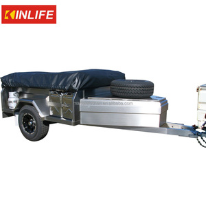 Soft Floor Stainless Steel Camper Trailer
