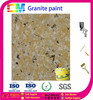 scratching resistant decorative paint granite wall coating