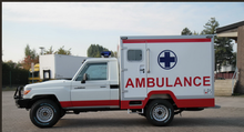 Toyota Land Cruiser, Hard Top with Box , off-road ambulance