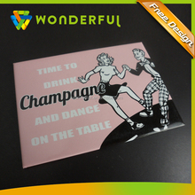 OEM Home Decoration Factory High Quality Cardboard Lamination Waterproof Cheap Souvenir Paper Fridge Magnet