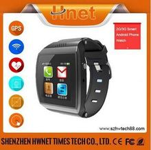 China New watch phone free android phone watch support google play store mobile watch phone