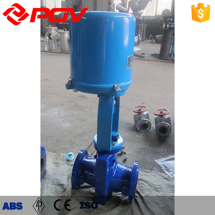 Slurry Transport Actuator solenoid pneumatic pinch valve