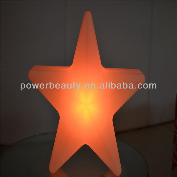 Illumilated Christmas star decoration for house/outdoor/livingroom