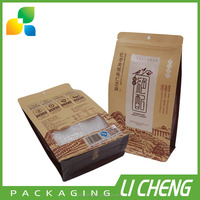 High quality colorful printing paper bag for food packaging