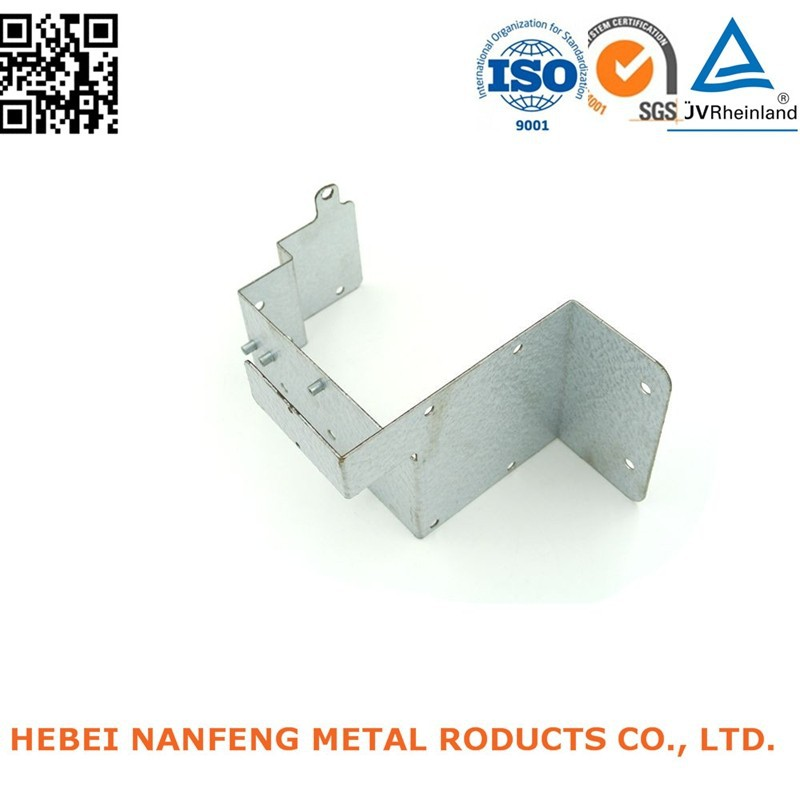 Manufacture custom galvanized sheet bending electrical power bracket products