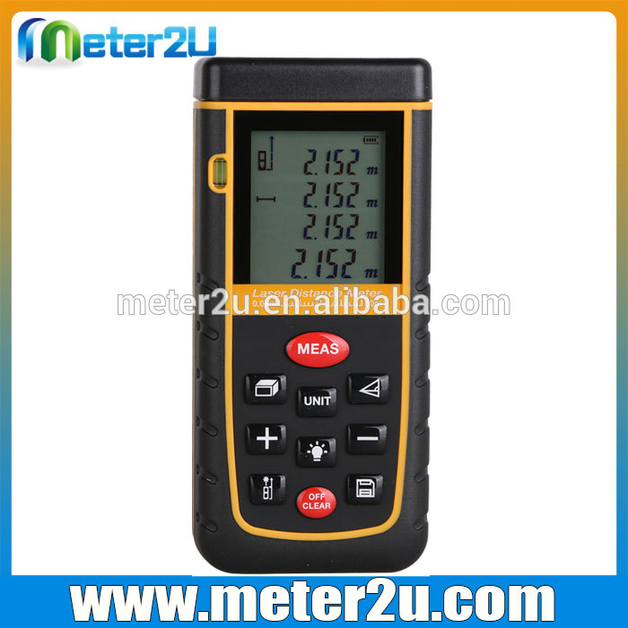 Laser Distance Meter Used Golf Carts Measuring Instrument 60m HD-A60M