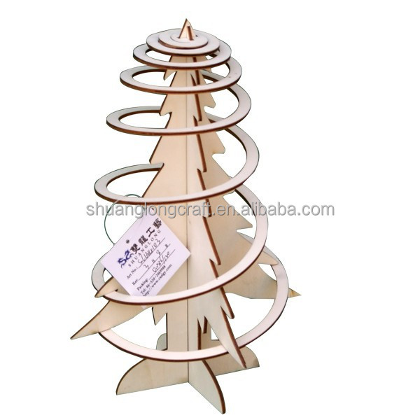 2014 new style artificial wooden christmas trees wholesale