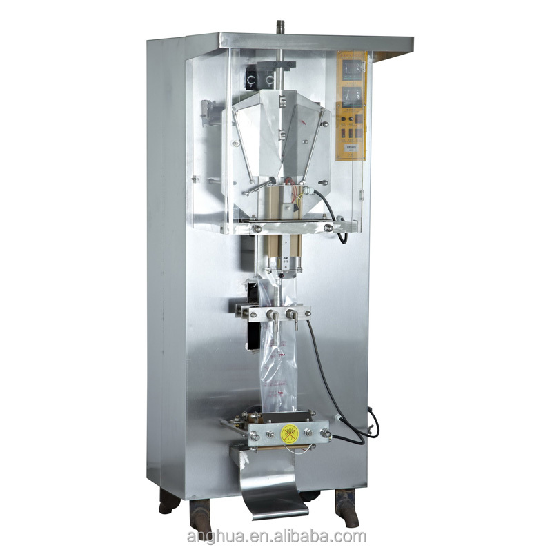 Sample * Back Sealing Drinking Water Packing Machine hot cold drinking water machine Ah-1000