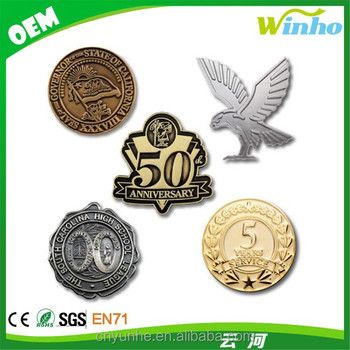Winho die cast military lapel pin