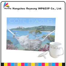 Customized wholesale postcard book printing orders