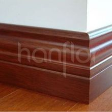 PVC Skirting Board with Cable
