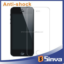 high clear tpu high quality anti shock anti fingerprint safeguard screen protector for iphone 6 5