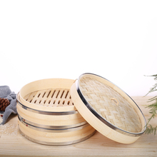 Durable stainless steel bamboo steamer for sale