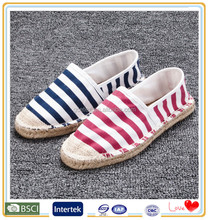 Dongguan new model type fancy pakistani espadrilles shoes