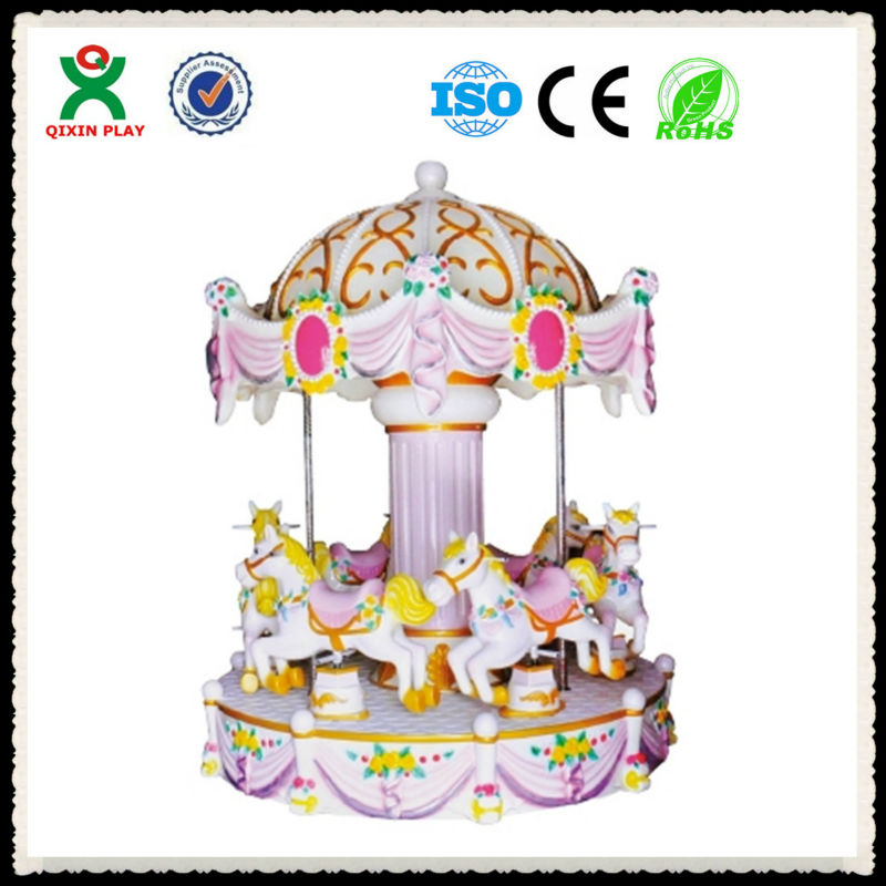 merry go around/Outdoor Amusement Park Ride Carousel For Kids/carousel rides roundabouts for child QX-129A