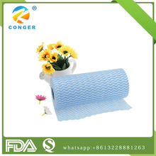 Daily use disposable non-woven cleaning cloth kitchen wipes