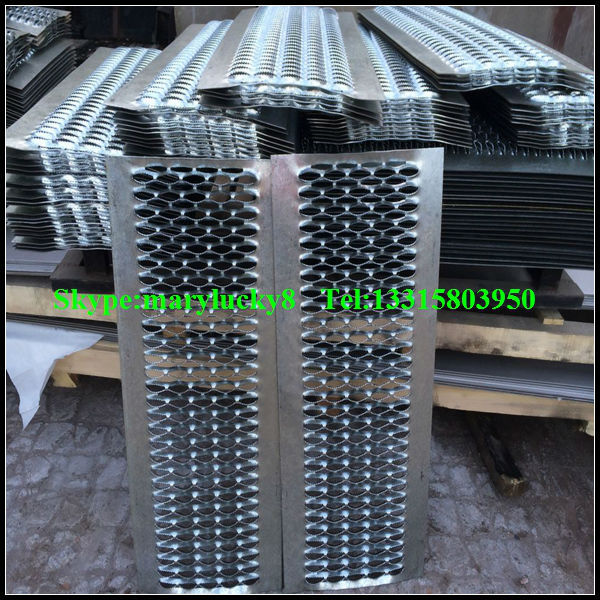 anti skid perforated plank grating for walkway/perforated catwalk grating