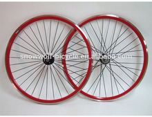 fixed gear bike 40mm with quando hub bicycle wheels 700c wheelsets