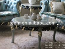 2014 Divany european classic coffee table inlaid mother of pearl center table BA-1807