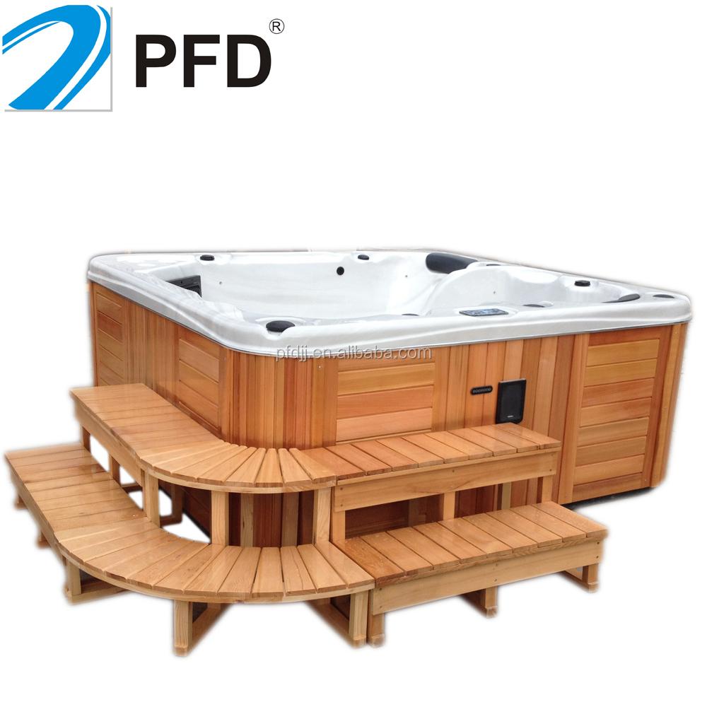 Stile europeo funzione massaggio freestanding vasca idromassaggio per esterni utilizzati spa - Sesso in vasca da bagno ...