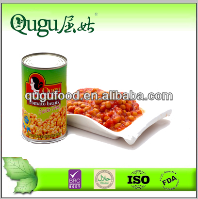 canned soybean in tomato sauce