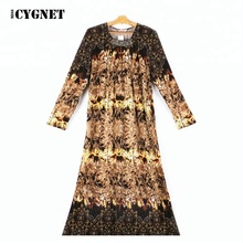 2018 new model sequin casual Muslim abaya in Dubai