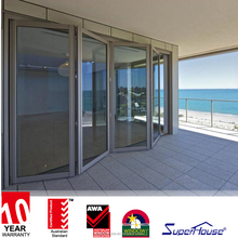 Wholesale Supplier Australian doors design Aluminum folding door