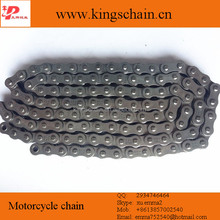 Hot sale yellow oil natural color 428-116L motorcycle chain parts