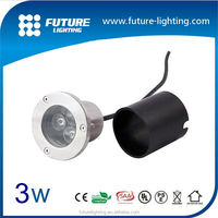 3W high power ip67 outdoor led inground solar lights