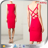 Wholesale Cheap Backless Red Bandage Dresses