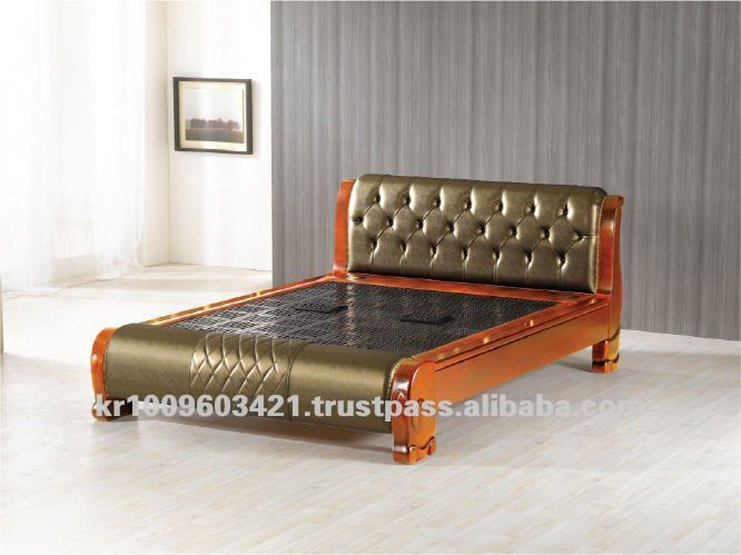 King size charcoal bed